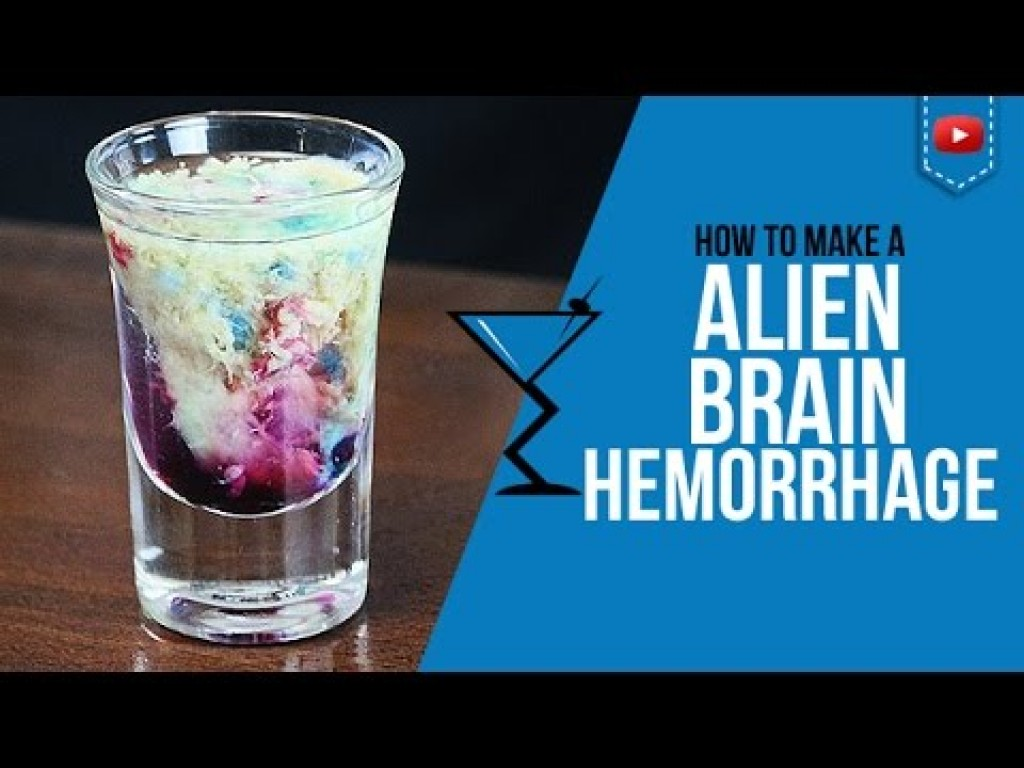 alien brain hemorrhage shot how to make a alien brain hemorrhage shot recipe popular drinks any time