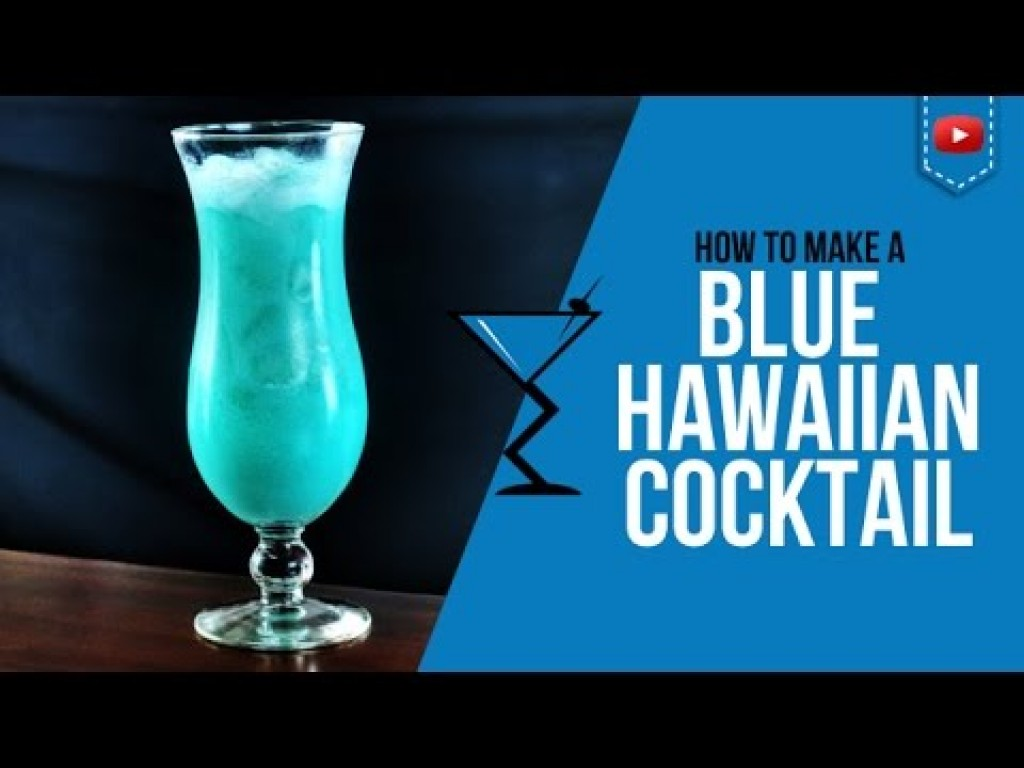 How To Make A Blue Hawaiian