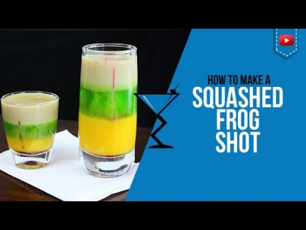 squashed frog shot how to make a squashed frog cocktail recipe by drink lab popular drinks any time