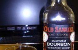 Old Samuel De Luxe Blended Bourbon Old Kentucky Whiskey