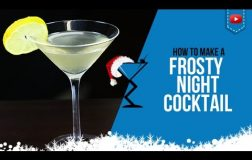 Christmas Cocktails – Frosty Night – How to make a Frosty Night Cocktail Drink Recipe