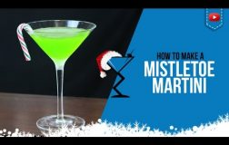 Christmas Cocktails – Mistletoe Martini – How to make Mistletoe Martini Cocktail Recipe (Popular)
