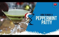 Christmas Cocktails – Peppermint Patty Cocktail & Shot – How to make Peppermint Patty Drink Recipe