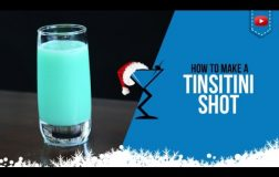 Christmas Cocktails – Tinseltini Shot – How to make a Tinseltini Shot Recipe (Popular)