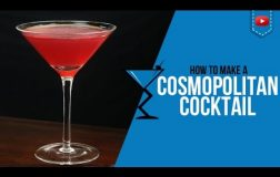 Cosmopolitan Cocktail – How to make a Cosmopolitan Cocktail Recipe by Drink Lab (Popular)