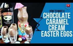 Easter Cocktails – Chocolate Caramel Cream Easter Egg Cocktail – How to make a easter Cocktails