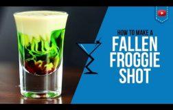 Fallen Froggie Shot – How to make a Fallen Froggie Shot Recipe by Drink Lab (Popular)