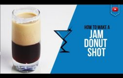 Jam Donut Shot  – How to make a Jam Donut Shot Recipe by Drink Lab (Popular)