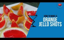 Jello Shots – Vodka Jello Shots in Oranges / Fruit – How to make by Drink (Popular)