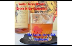 Sailor Jerry Week! The Sailor Jerry Old Fashioned