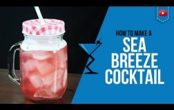 Sea Breeze Cocktail – How to make a Sea Breeze Cocktail Recipe by Drink Lab (Popular)