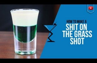 Shit on the Grass Shot – How to make a Shit on the Grass shot Recipe by Drink Lab (Popular)