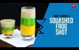 Squashed Frog Shot – How to make a Squashed Frog Cocktail Recipe by Drink Lab (Popular)