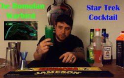 The Romulan Warbird Cocktail
